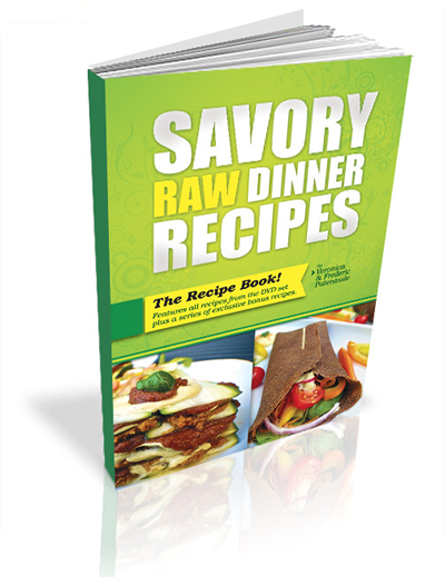 Savory raw dinner recipes savory raw dinner recipes with veronica and frederic patenaude forumfinder Choice Image
