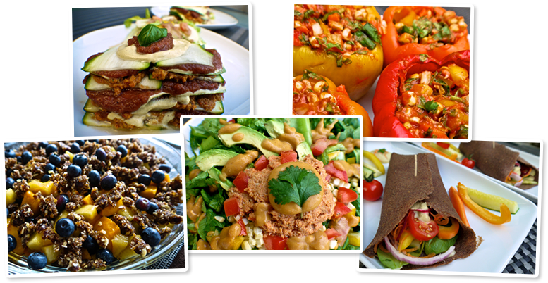 Savory raw dinner recipes a photo of the food forumfinder Image collections